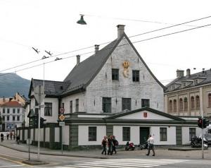Rådhuset i Bergen privatbostad åt Christopher Valkendorf