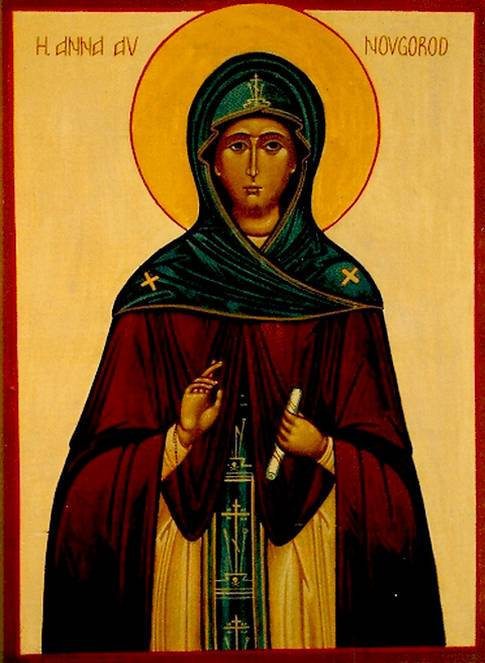 Heliga Anna av Novgorod1