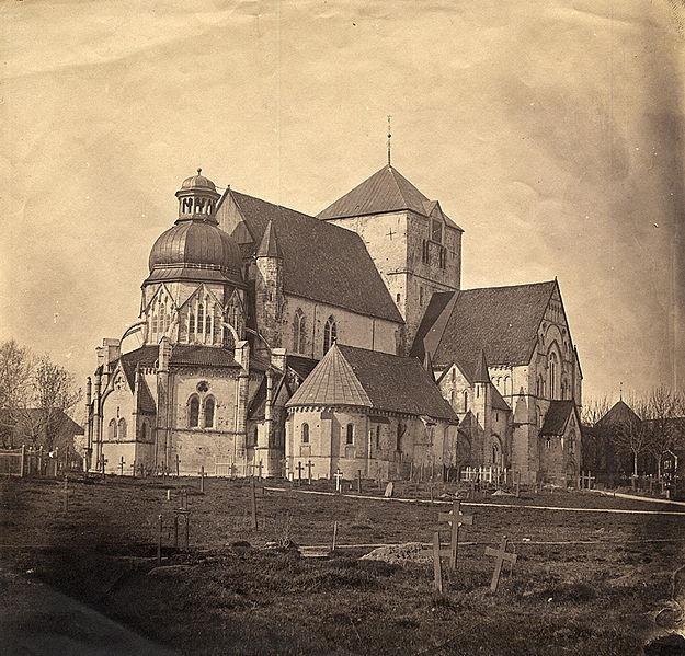 domkyrkan i Trondheim Norge