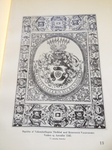 titelblad baksida Walkendorff 1582