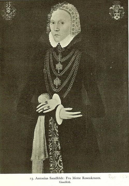 Mette Rosenkrantz ca. 1572